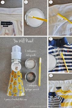 easy diy stain remover