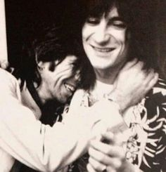 Keith Richards and Ron Wood 1977