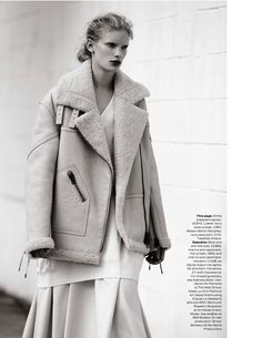 visual optimism; fashion editorials, shows, campaigns & more!: the maxi coat: ilse de boer by bruno staub for uk elle october 2013