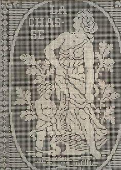 Angeles Filet crochet. Angeles en crochet, Cherubs Filet crochet, ganchillo