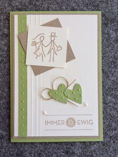 Kreative mit Herz♥: Hochzeitseinladung * Immer & Ewig *