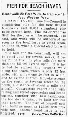 1919 Beach Haven Boardwalk Newspaper Article Beach Haven, Long Beach Island, Newspaper Article, Old Photos, Youth, Old Pictures, Vintage Photos, Young Adults, Teenagers
