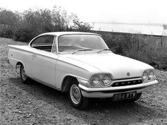 Ford Capri coupe publicity photo, what a great looking car