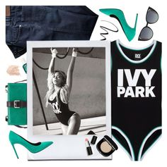 """""""Slay All Day: Style Beyonce's Ivy Park!"""" by the92liner ❤ liked on Polyvore featuring Ivy Park, Charles Jourdan, Essie, L'Oréal Paris, Topshop, Yves Saint Laurent, Sigma Beauty, Marc Jacobs, Fendi and Beyonce"""