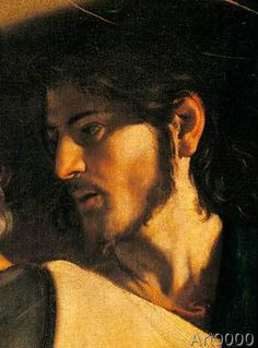 The Calling of St Matthew by Caravaggio