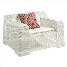 emu ivy armchair, outdoor by paola navone