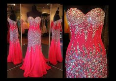 Beautiful Pink Beaded Pageant Gown #pageantassociates #pageant