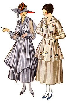 Ladies' Spring Fashions, 1917