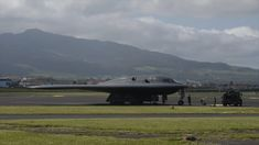 Members of the 393rd Expeditionary Bomb Squadron perform a hot pit refuel with three B-2 Spirit stealth bombers as part of Bomber Task Force Europe at Lajes Field, Azores, March 19, 2021 🟠🟠🟠 🎬Film Credits: Video by Airman 1st Class Christina Carter 509th Bomb Wing Public Affairs 2 Spirited, Christina Carter, Stealth Bomber, Azores, Us Air Force, Military Men, Us Army, Military Aircraft, Beautiful Gardens