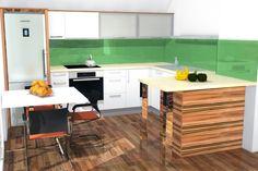3D izris kuhinje erjavec