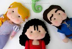 Feltrolândia : Decoração Festa Infantil - Enrolados