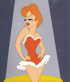 If I were ever to get a pinup tattoo it would have to be Tex Avery's Red Hot Riding Hood.