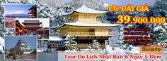 Du Lịch Nhật Bản 6 ngày 5 đêm: Hà Nội - Tokyo - Núi Phú Sĩ - Nagoya - Kyoto - Osaka