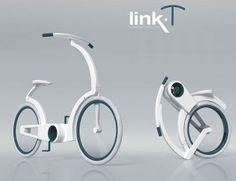 Link-T Cruise Bike, future, concept, futuristic, Elena Streckyte, vehicle, bicycle by FuturisticNews.com