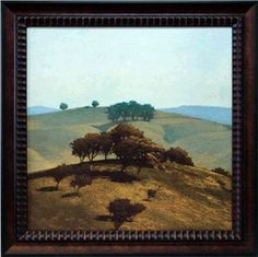 Hills Near Chico Framed Artwork    A lush landscape depiction, great for rooms with a subtle, natural theme. cort.com