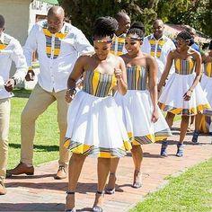 DKK African fashion Ankara kitenge African women dresses African prints A African Bridesmaid Dresses, African Wedding Attire, African Print Dresses, African Dresses For Women, African Attire, African Wear, African Fashion Dresses, African Women, African Prints