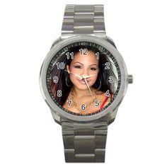 Christina Milian Sport Metal Watch