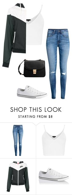"""""""bowling"""" by kaleempressler ❤ liked on Polyvore featuring H&M, Topshop, NIKE, Converse and MANGO"""