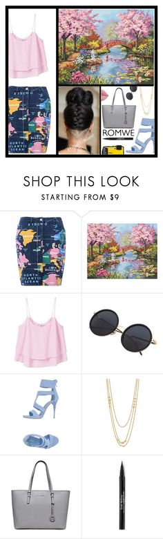 """""""Beautiful and Fashionable Day 😎"""" by pattimayoisversatile on Polyvore featuring Love Moschino, jcp, MANGO, Le Silla, Gorjana, Trish McEvoy and Lime Crime"""