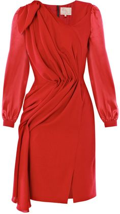 ROKSANDA ILINCIC, Drape Detail Dress