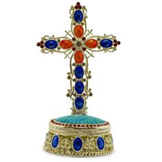 BestPysanky Online Gift Shop Offers Religious > Crosses & Crucifixes > Standing for Sale Online Gift Shop, Online Gifts, Nativity Scene Sets, Jewelry Box, Unique Jewelry, Jewelry Accessories, Religious Cross, Wall Crosses, Beautiful Gift Boxes