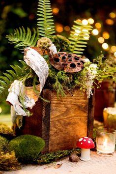 32 Naturally Charming Woodland Wedding Centerpieces   Weddingomania