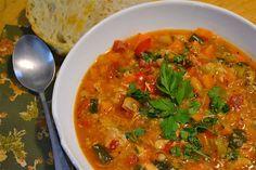 Tuscan Chicken Vegetable Stew