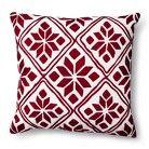Threshold™ Fair Isle Decorative Pillow - Red