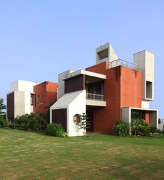Dual House in Ahmedabad, India by Vipul Patel Architects (VPA)