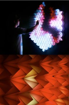 Photos from New Angles interactive installation by Super Nature Design