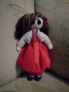 Doll crochet handmade by Inka