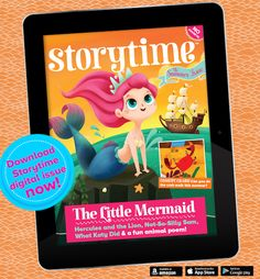 Did you know you can read Storytime on digital tablets too? Download it here: https://pocketmags.com/magazines/viewmagazine.aspx?catid=1031&category=Family+%26+Home&subcatid=191&subcategory=Parenting&title=Storytime&titleid=2877&issueid=134736