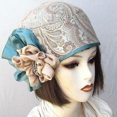 Flapper Helmet Cloche Vintage Style Womens Hat ♥ by BuyGail Flapper Hat, 1920s Flapper, Flapper Style, Vintage Hats, Vintage Style, Vintage Fashion, Ladies Hats, Hats For Women, 1920s Hats
