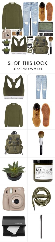 """Untitled #481"" by inkcoherent on Polyvore featuring Calvin Klein Underwear, rag & bone, Givenchy, Timberland, Burberry, Bare Escentuals, NARS Cosmetics, Hermès, Fig+Yarrow and Fujifilm"