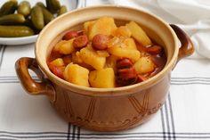 Egy finom Paprikás krumpli ebédre vagy vacsorára? Paprikás krumpli Receptek a Mindmegette.hu Recept gyűjteményében! Fruit Salad, Sweet Potato, Bacon, Potatoes, Lunch, Vegetables, Cooking, Recipes, Food
