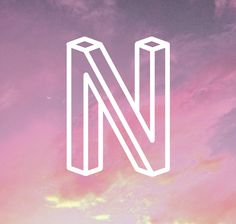 N is for - ISOMETRIC // TYPEFACE by kuul kidd, via Behance