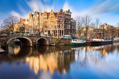 As 20 melhores cidades do mundo para turistas- Amsterdã, Holanda