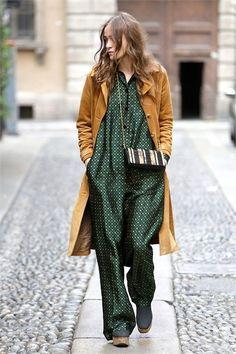 Fashion Mode, Fast Fashion, Look Fashion, Winter Fashion, Womens Fashion, Fashion Trends, Female Fashion, Green Fashion, Trendy Fashion