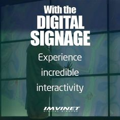 Experience an incredible interactivity and visual impact that only Digital Signage can offer you. To know more about who we are and the services we offer go to our website www.imvinet.com or write us by e-mail to info@imvinet.com #digitalboards  #informacion  #comunicacion  #tecnologia  #medio  #medioDigital #ds  #señalizacion  #carteleras  #digitalboards  #informacion  #comunicacion  #tecnology