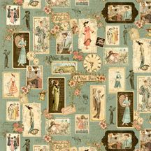 A Ladies' Diary by Graphics 45 for Wilmington Prints