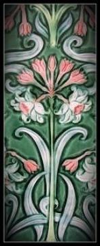 Verdant Tile - 6x16 Inch Art Tile - Mary Philpott