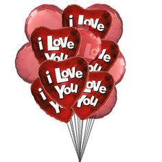 True Love Mylar Balloon) True Love Balloon which says what is in your heart that is on your lips so send this True Love Balloons to your loved Mylar & 6 Latex Balloons deliver in this arrangment. Order Balloons, Send Balloons, Balloons Online, Valentines Balloons, Helium Balloons, Latex Balloons, I Love You Balloons, Love Balloon, Balloon Bouquet Delivery