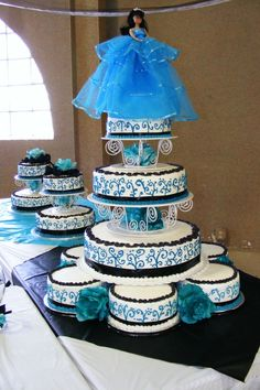 Amazing Quince Cakes | Amazing Cakes / first quinceanera cake - 13 cakes for this party ...