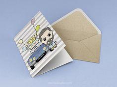 Rite Rite: Regalo especial para cumpleaños. Tarjeta personali...