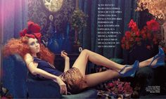 PLASTIC DREAMS #06 SS 2011/2012 Lily Cole By Michael Labica