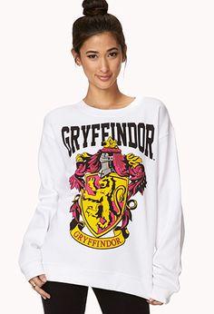 Gryffindor Sweatshirt from forever21.com #HarryPotter #Gryffindor #Forever21