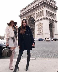 Paris is always a good idea! #paris #france #love #bestfriends #travel #arcdetriomphe #frenchlover #frenchkiss #fashion #style