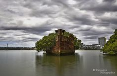 The wrecks at Mariners Cove are in such a random spot being surrounded by apartments, however these wont get in the way of the shot. Shipwreck, Wonders Of The World, Abandoned, Road Trip, Shots, Public, Apartments, Photography, Random