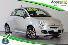 2012 Fiat 500, 56,519 miles, $10,989.