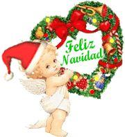 Angelitos de Navidad animados.
